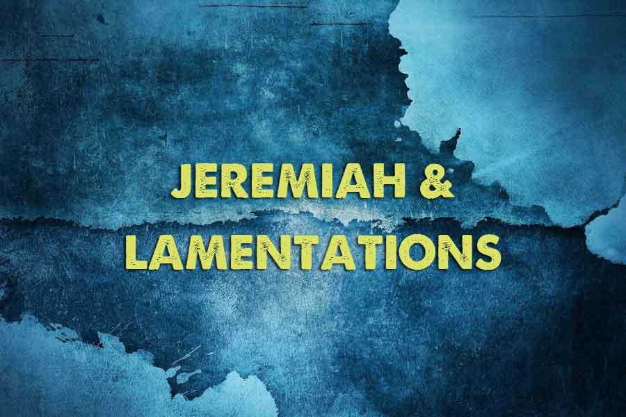 Jeremiah And Lamentations Joy Digital