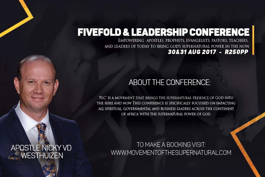 Fivefold Amp Leadership Conference Hosted By Apostle Nicky