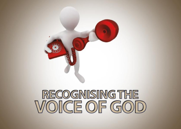 Recognising The Voice Of God Joy Digital