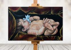 Painting by Ilse Kleyn