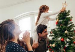Family at Christmas