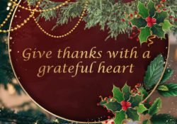 Christmas thanks Giving