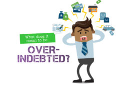 over indebted